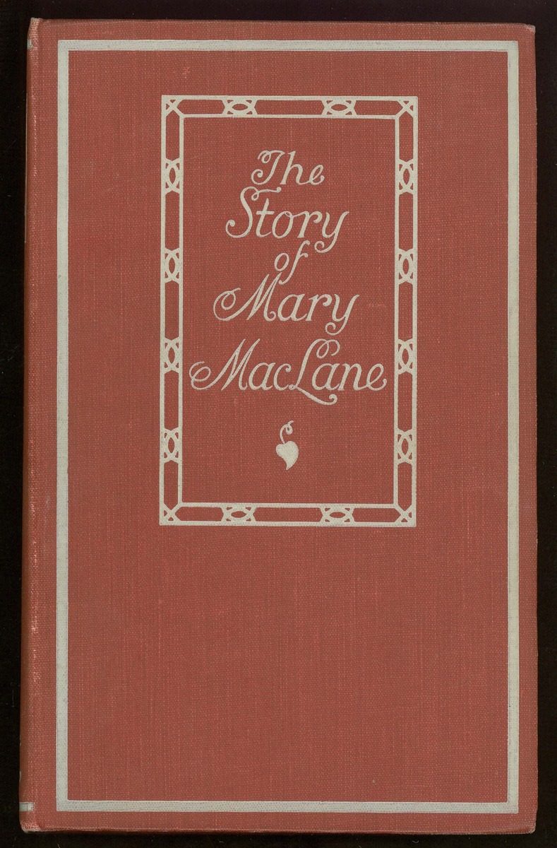 The Story of Mary MacLane, cover and frontispiece