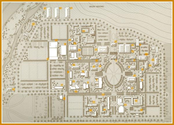 Long Range Campus Plan, Montana State University, page 21, 30, 31<br />