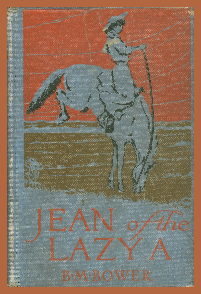 Jean of the Lazy A, cover