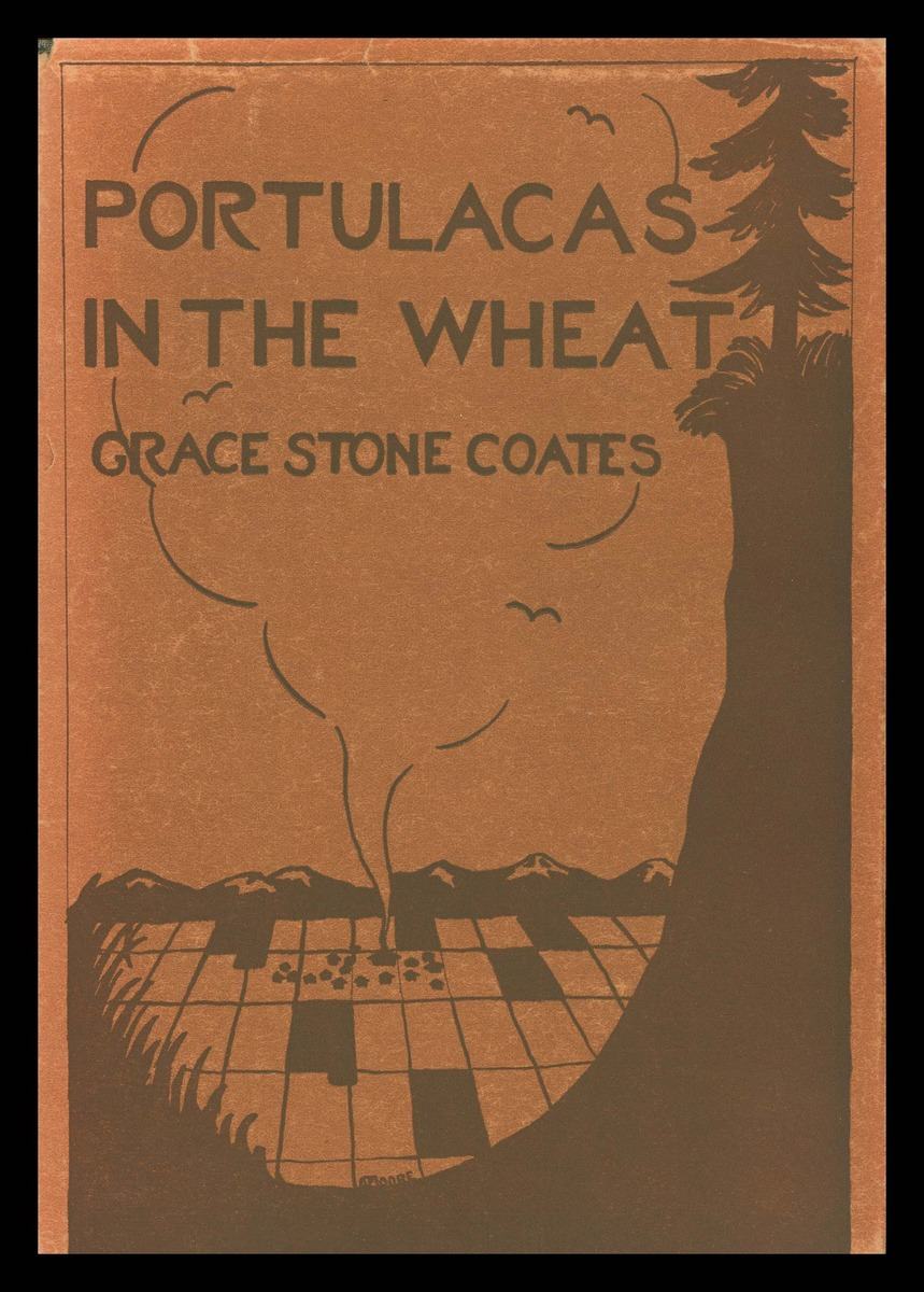 Portulacas in the wheat, cover