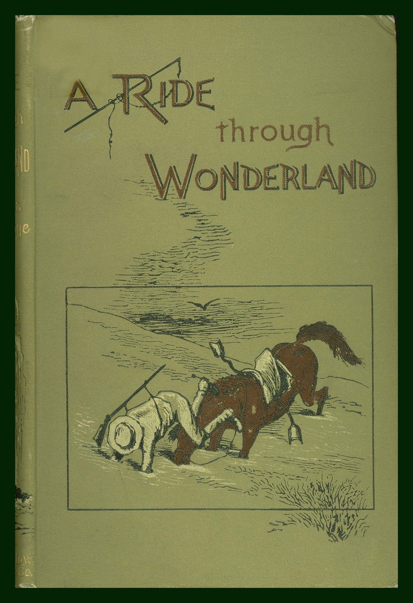 A Ride Through Wonderland, cover