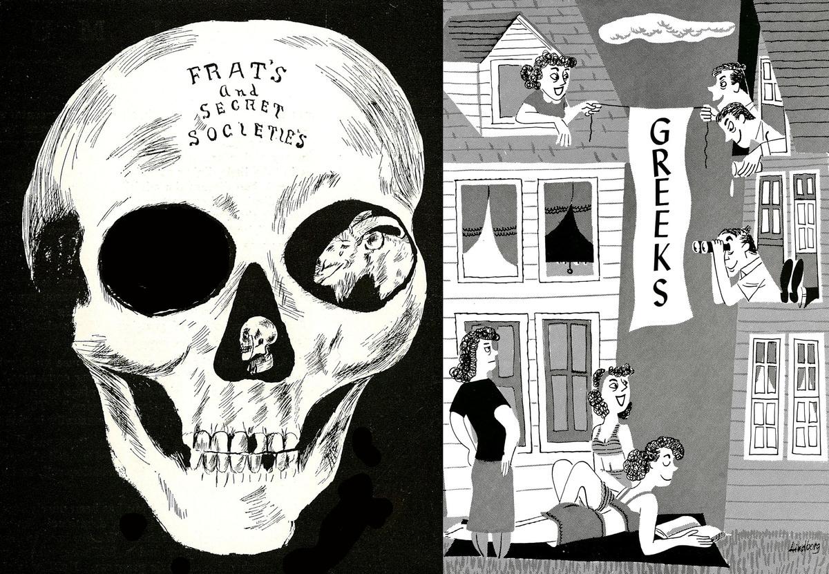 Greek Life Exhibit Scrapbooks<br />