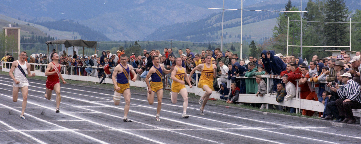 Track race at meet