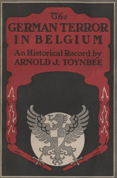 The German Terror in Belgium: A Historical Record, cover.