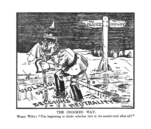 The Daily Graphic, Special War Cartoons, No. 2, page 12.