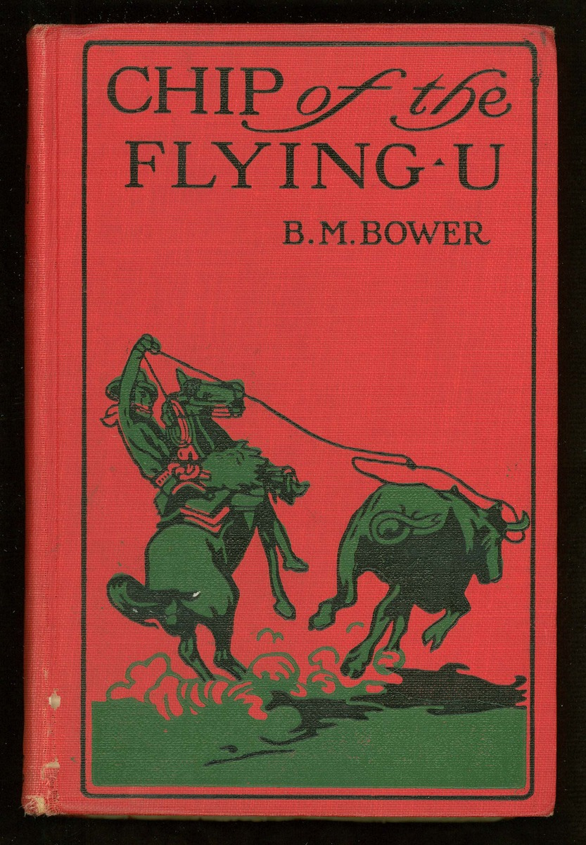 Chip, of the Flying U, cover