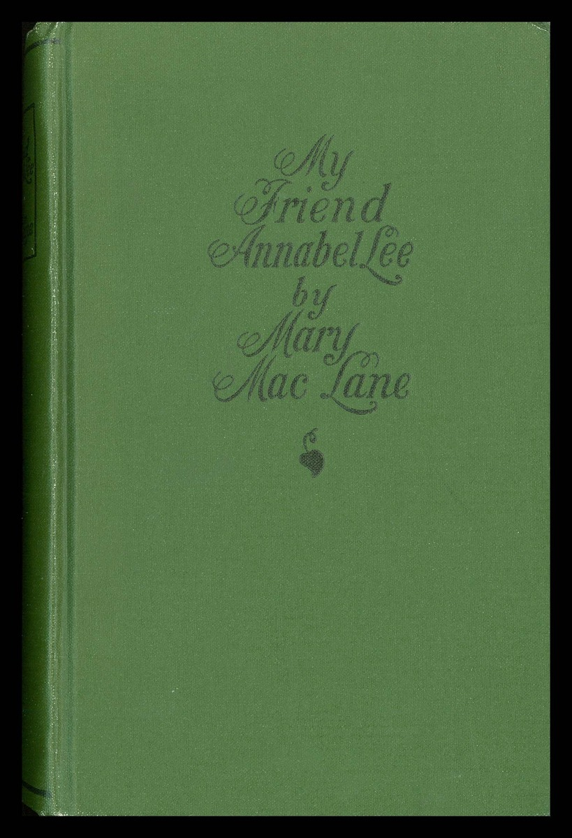 My Friend Annabel Lee, cover and frontispiece