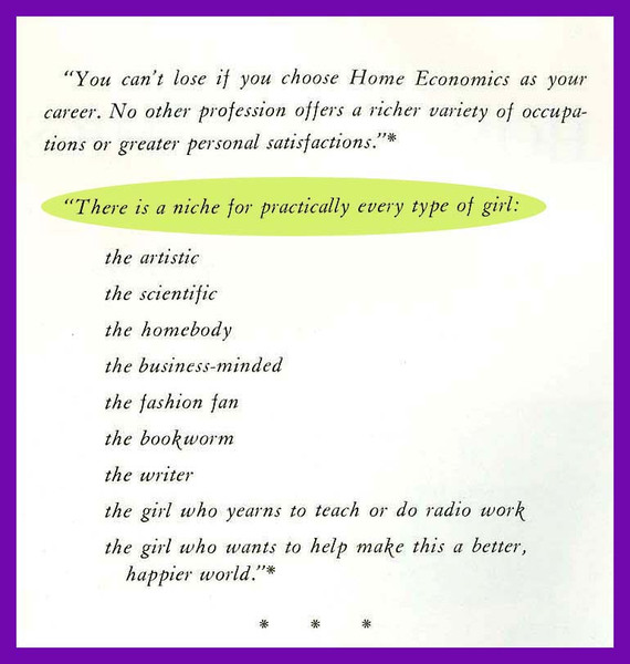 Home Economics As A Career, page 1.