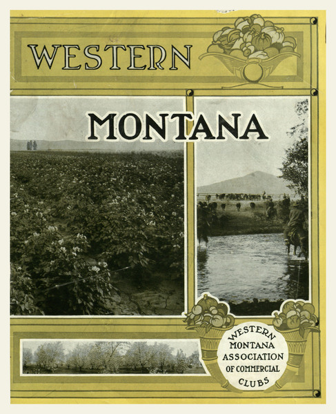 Western Montana, cover.