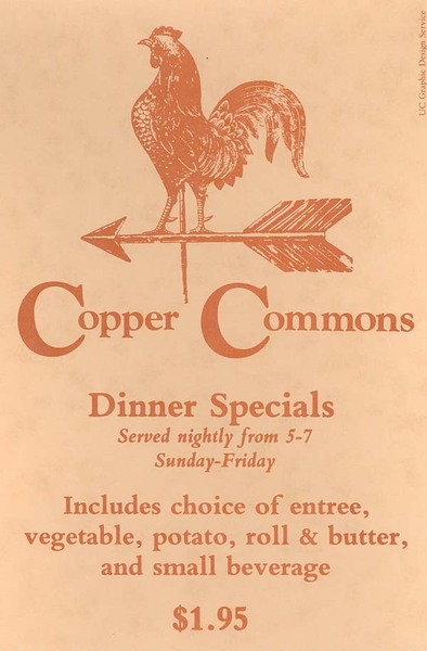 Copper Commons Dining Specials