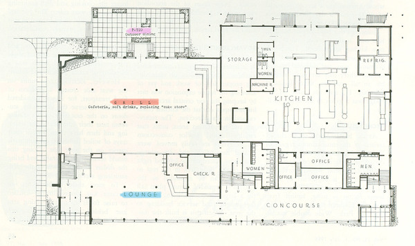 Lodge, First Floor Plan