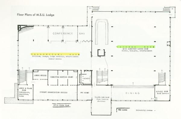 Lodge, Second Floor Plan