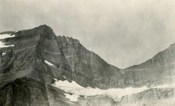 Going-to-the-Sun Mountain and Sexton Glacier.
