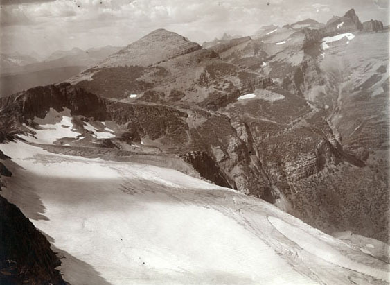 Swiftcurrent Pass and Glacier