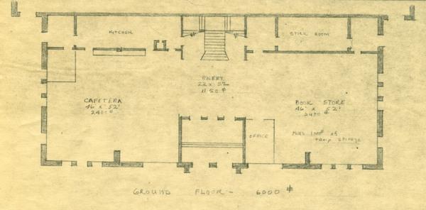 Fine Arts Building, Ground Floor Plans