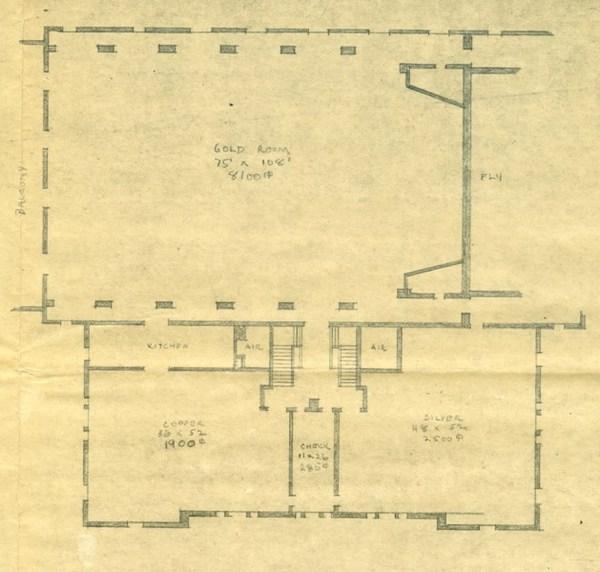 Fine Arts Building, Third Floor Plans