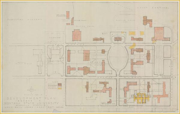 Development Plan Scheme A, Montana State University<br />