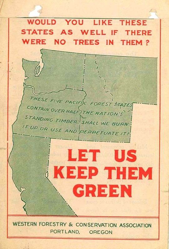 Let Us Keep Them Green, cover.