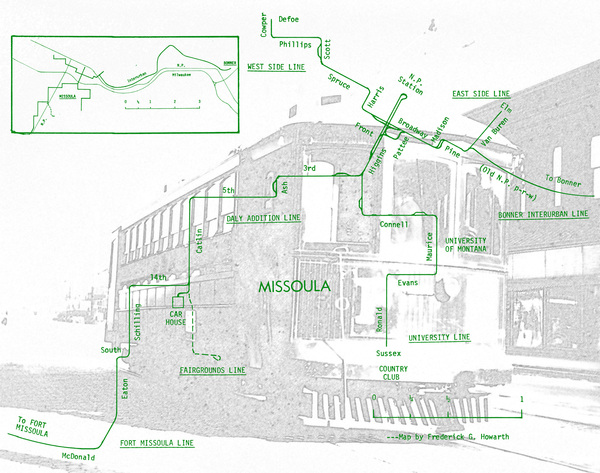 Trolley Route Graphic
