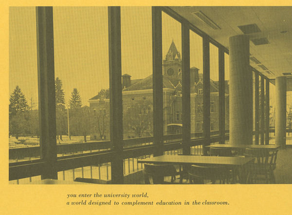 University Center Booklet, page 3.