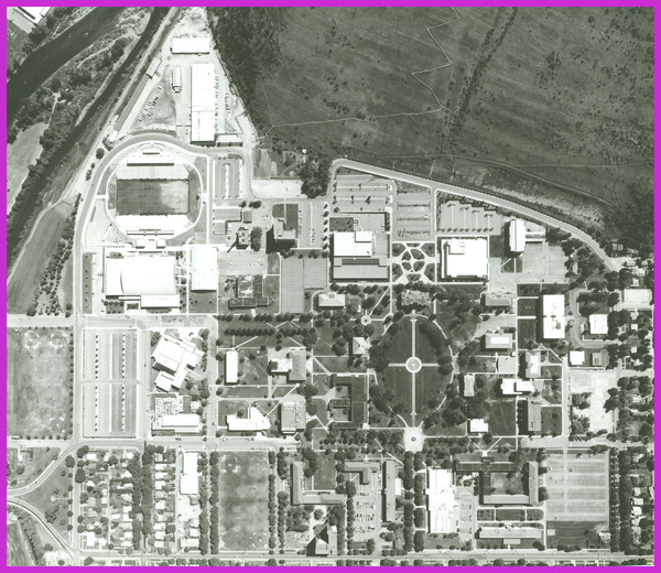 Aerial view of Campus<br />