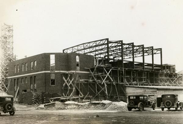 Construction of Student Union.