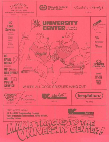 UC Business Flyer