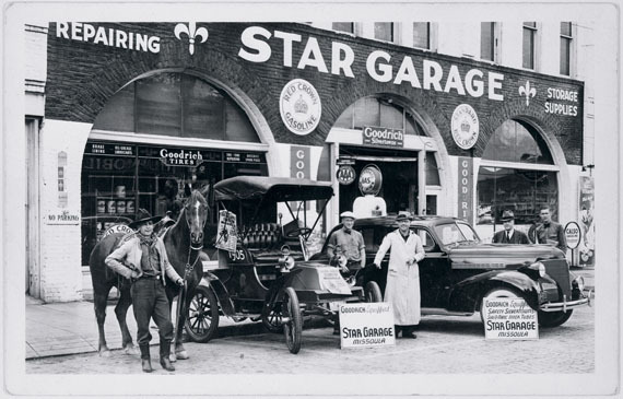 Star Garage, West Front Street, Missoula, Montana
