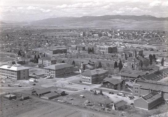 University of Montana Campus<br />