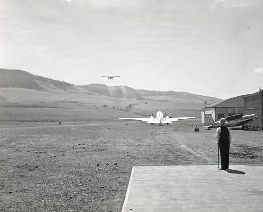 Hale Field and Airplanes, Missoula