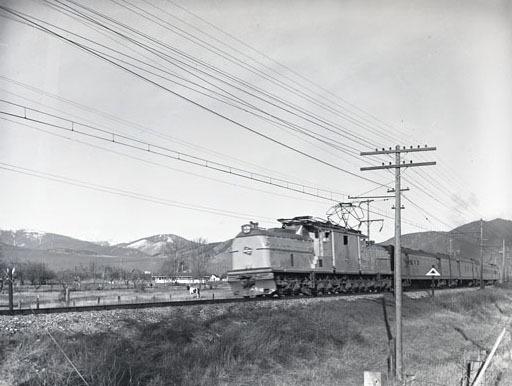 Milwaukee Train near Grove Street, Missoula.