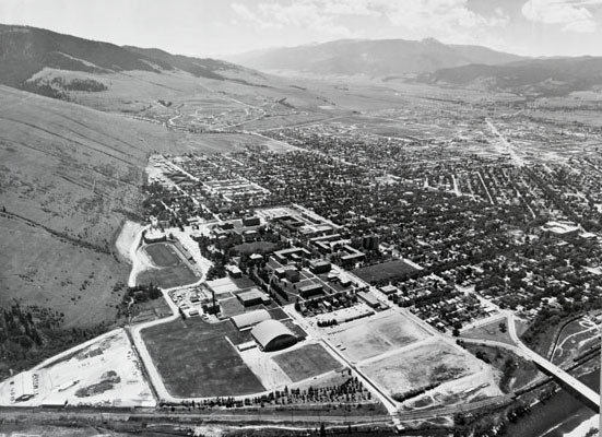 Aerial View of Missoula<br />