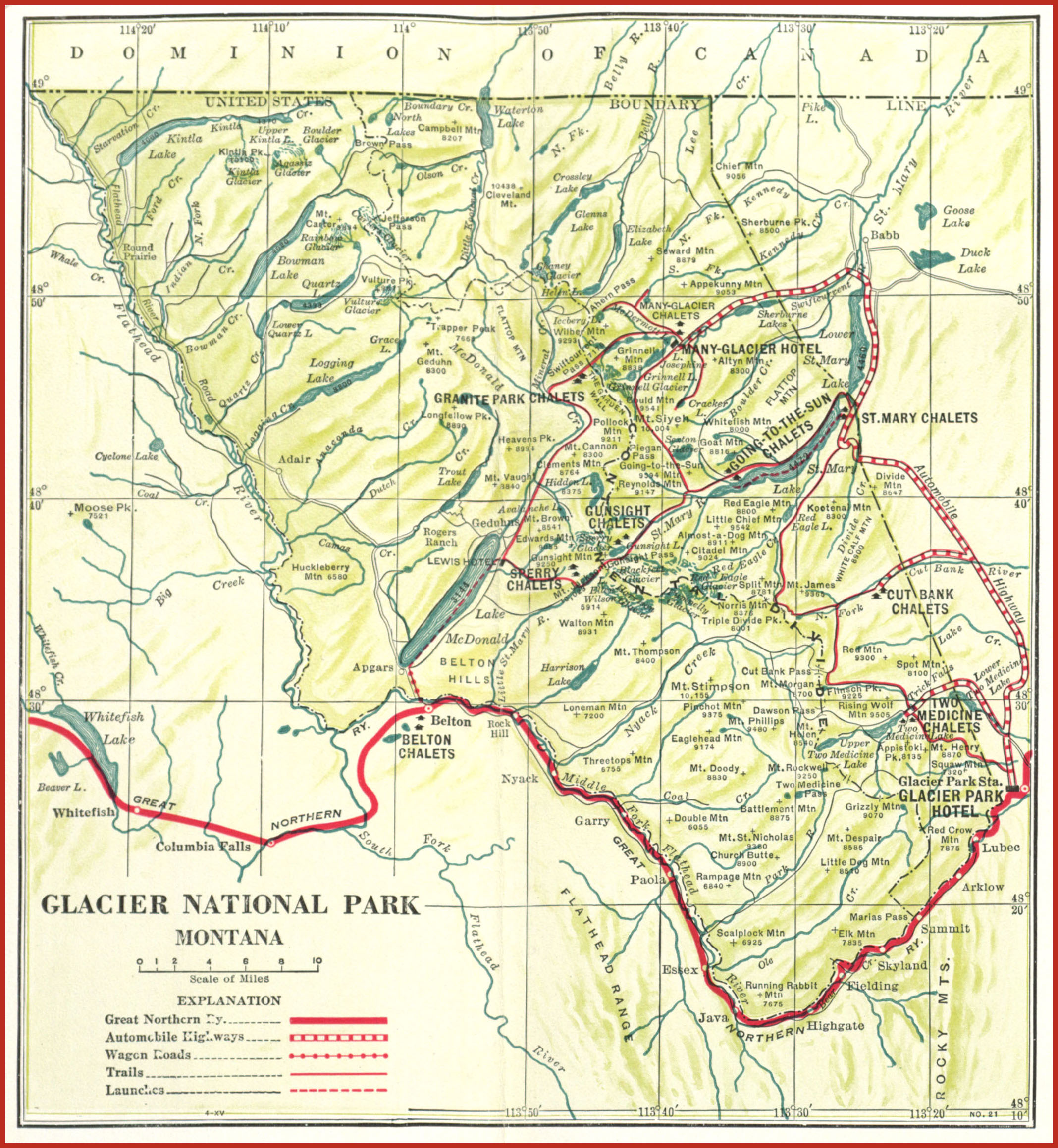 Glacier National Park : Hotels & Tours, page 0. · Archives ... on map of banff national park, map of glacier park area, yellowstone national park inn accommodations, map of glacier bay park,
