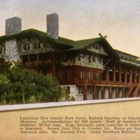 Glacier Park Hotel.
