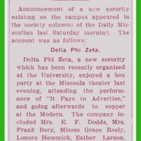 Daily Paper Announces New Sorority on Campus, page 2
