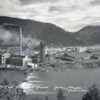 Anaconda Copper Mining Company saw mill, Bonner