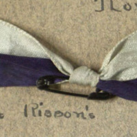 Carol O&amp;#039;Donnell&amp;#039;s Pledge Ribbon for Kappa Kappa Gamma<br />