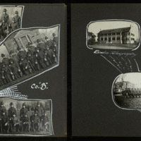 Student Army Training Corps Photograph Album, pages 9 and 10.