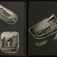 Student Army Training Corps Photograph Album, pages 21 and 22.