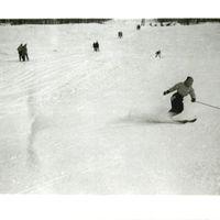 Patricia Goedicke skiing