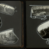 Student Army Training Corps Photograph Album, pages 17 and 18