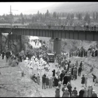 Dedication Day and opening, Alberton bridge