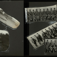 Student Army Training Corps Photograph Album, pages 7 and 8.