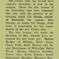 Chelys Club New Sorority, page 3<br /><br />