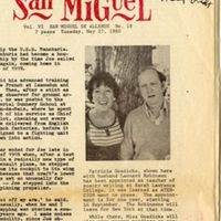 Clipping from Atencion San Miguel dated May 27, 1980