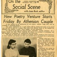 Clipping from Athens messenger dated February 4, 1960
