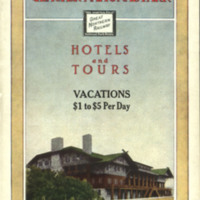 Glacier National Park: Hotels and Tours, cover.
