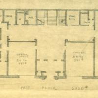 Fine Arts Building, First Floor Plans