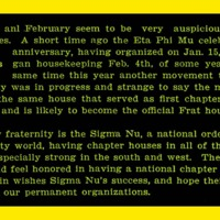 Fraternities, page 35