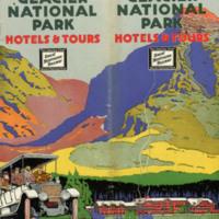 Glacier National Park Hotels & Tours, cover.